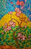 Finestra di Stained-glass. fotografie stock libere da diritti