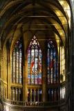Finestra di Stained-glass Fotografia Stock