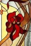 Finestra di Stained-glass immagini stock