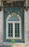 Finestra di stile dell'ottomano Fotografia Stock