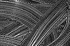 finestra di superficie di vetro del fuoco di pulizia Fotografie Stock
