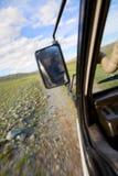 Finestra di un SUV Immagine Stock
