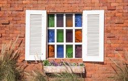 Finestra di vetro Fotografie Stock