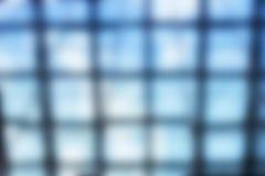 Finestra di vetro astratta fotografia stock