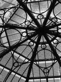 Finestra di vetro della cupola Fotografia Stock