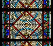 Finestra di vetro della macchia Fotografia Stock Libera da Diritti