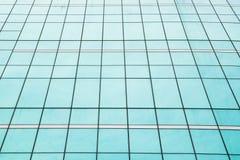 Finestra di vetro dello specchio di alta costruzione Fotografia Stock Libera da Diritti