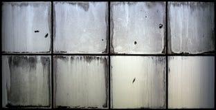 Finestra di vetro di lerciume Immagini Stock Libere da Diritti