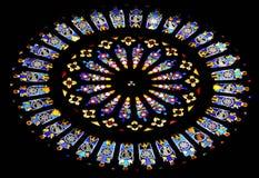 Finestra di vetro macchiata 1 Immagini Stock