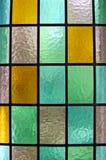 Finestra di vetro macchiata Immagine Stock Libera da Diritti