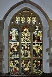 Finestra di vetro macchiata 6 Immagini Stock