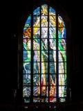 Finestra di vetro macchiata 6 Fotografia Stock Libera da Diritti