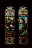 Finestra di vetro macchiata 6 Immagini Stock Libere da Diritti