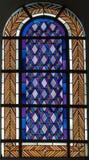 Finestra di vetro macchiata 6 Immagine Stock Libera da Diritti