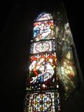 Finestra di vetro macchiata Immagini Stock Libere da Diritti