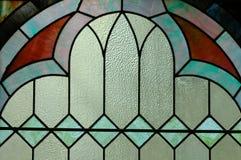 Finestra di vetro macchiata I Immagini Stock Libere da Diritti