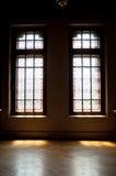 Finestra di vetro macchiato Fotografia Stock Libera da Diritti