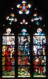Finestra di vetro macchiato del d& x27 di Jeanne; Arco in Montargis Fotografia Stock