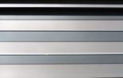 Finestra di vetro a strisce della gelosia fotografie stock libere da diritti