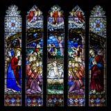 Finestra di Westminster - Chester Cathedral - il Regno Unito Fotografia Stock Libera da Diritti