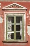 Finestra domestica di legno Fotografie Stock