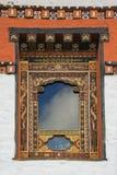 Finestra - Druk Wangyal Lhakhang - Bhutan Fotografia Stock