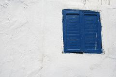 Finestra e parete Fotografia Stock