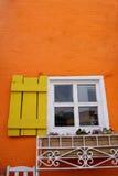 Finestra e parete Immagini Stock Libere da Diritti
