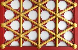 Finestra esagonale Fotografia Stock Libera da Diritti