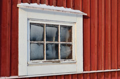 Finestra gelida Fotografia Stock