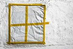 Finestra gialla Immagini Stock