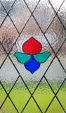 Finestra glassata Fotografia Stock