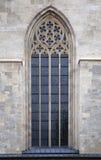 Finestra gotica immagine stock