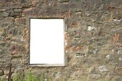 Finestra isolata Fotografie Stock