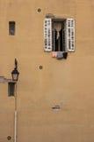 Finestra Marsiglia 免版税库存图片