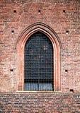 Finestra medioevale, particolari di architettura Fotografia Stock Libera da Diritti