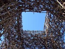 Finestra nel cielo Fotografie Stock