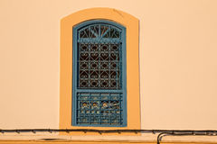 Finestra nel Marocco Fotografie Stock