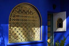 Finestra nel Marocco Immagini Stock