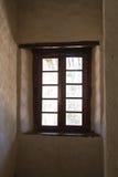 Finestra, palazzo dell'imperatore Menelik II Immagini Stock