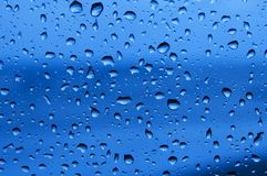 Finestra piovosa Fotografia Stock Libera da Diritti