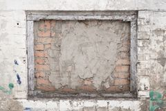 finestra rinchiusa, fondo di lerciume fotografia stock libera da diritti