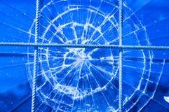 Finestra rotta Fotografia Stock Libera da Diritti