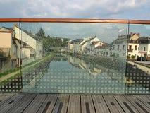 Finestra rotta Fotografie Stock Libere da Diritti