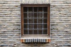 Finestra simmetrica Fotografie Stock Libere da Diritti
