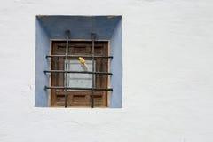 Finestra spagnola immagini stock