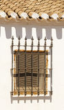 Finestra spagnola Fotografie Stock Libere da Diritti