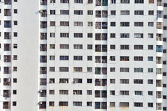 finestra su costruzione al giorno soleggiato Fotografie Stock Libere da Diritti