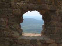 Finestra sul Roussillon Immagini Stock Libere da Diritti