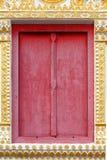 Finestra tailandese del tempio Immagine Stock Libera da Diritti